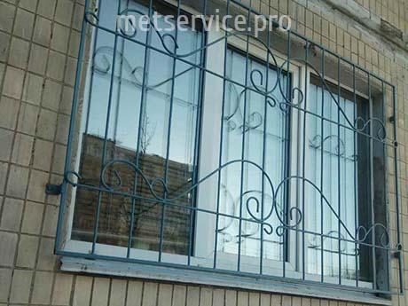 Сварная решётка на окно