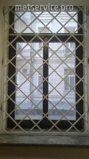 Внутренняя решётка на окно