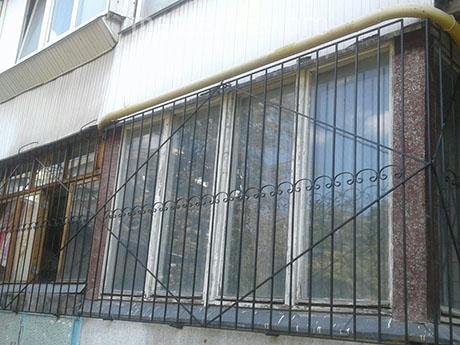 Длинные решётки на окно