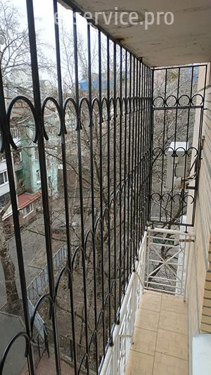 Решётка на балкон 6 этаж