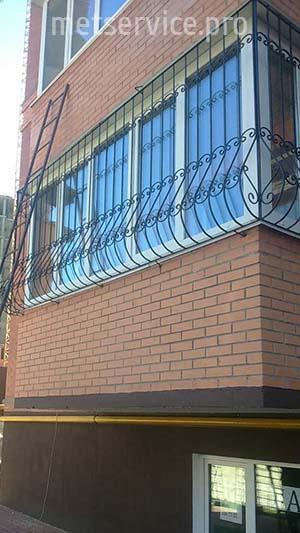 Решётки на балкон