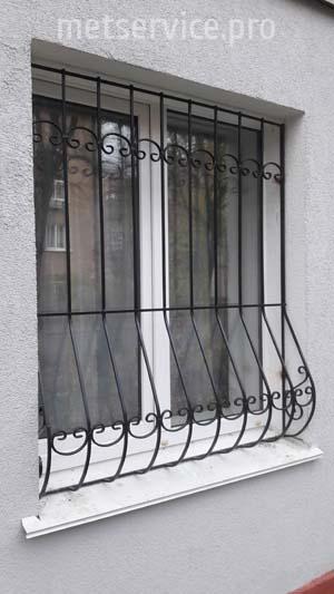 Сварная решётка на окна