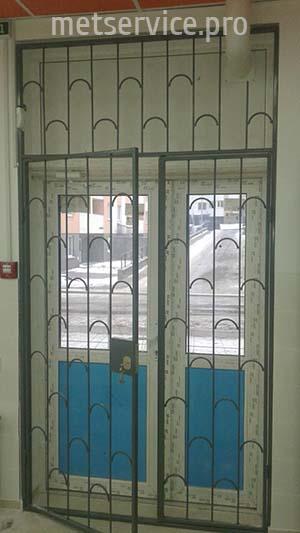 Внутренние решётки на входные двери